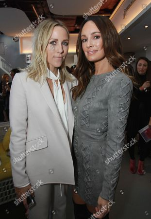 Jacey Duprie and Catt Sadler are seen at the Simply Stylist New York 2016 at the Yotel Hotel, in New York