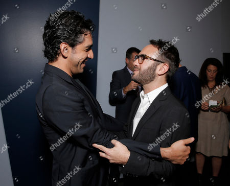 """Zal Batmanglij and Writer/director John Krokidas attend Sony Pictures Classics Los Angeles Premiere of """"Kill Your Darlings"""" Presented by Blue Moon Brewing Company on in Los Angeles"""