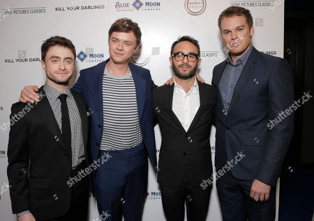 """Daniel Radcliffe, Dane DeHaan, Writer/director John Krokidas and Michael C. Hall attend Sony Pictures Classics Los Angeles Premiere of """"Kill Your Darlings"""" Presented by Blue Moon Brewing Company on in Los Angeles"""