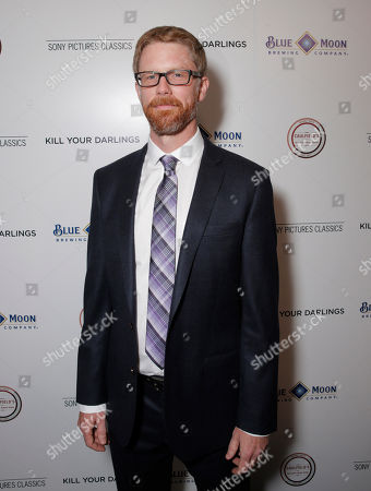 """Co-writer Austin Bunn attends Sony Pictures Classics Los Angeles Premiere of """"Kill Your Darlings"""" Presented by Blue Moon Brewing Company on in Los Angeles"""