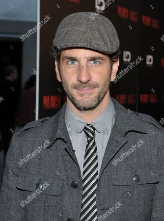 "Aaron Abrams arrives at the special screening of ""Black Rock"" at the ArcLight Hollywood on in Los Angeles"