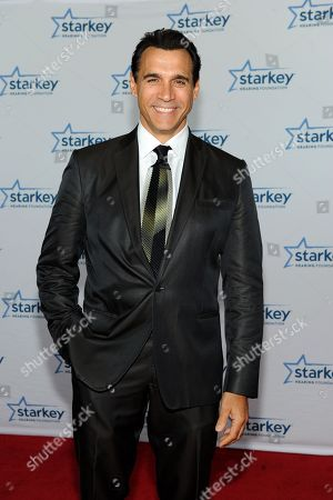 """Actor Adrian Paul is seen on the red carpet at the Starkey Hearing Foundation's """"So the World May Hear"""" Awards Gala on in St. Paul, Minn"""