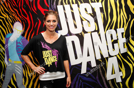 Olympic gold medalist Alex Morgan is seen at the Just Dance 4 Fashion Show, in New York
