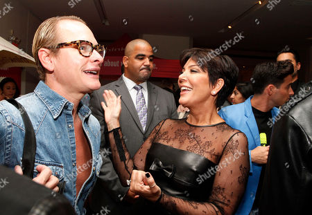 Carson Kressley and Kris Jenner are seen at the Just Dance 4 Fashion Show, in New York