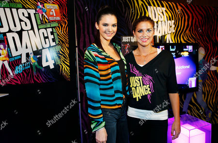 Kendall Jenner and Olympic gold medalist Alex Morgan are seen at the Just Dance 4 Fashion Show, in New York