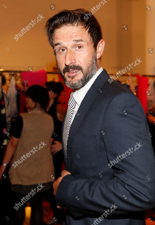 David Arquette is seen at the Just Dance 4 Fashion Show, in New York