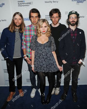 Editorial picture of Sundance Touchy Feely Premiere Party, Park City, USA - 19 Jan 2013