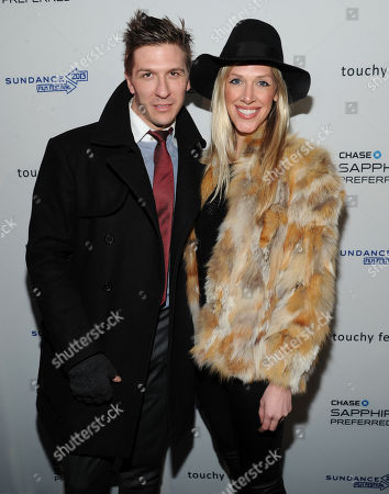 """Stock Picture of Derek Koch and guest attend the """"Touchy Feely"""" premiere party at The Shop during the Sundance Film Festival on in Park City, Utah"""