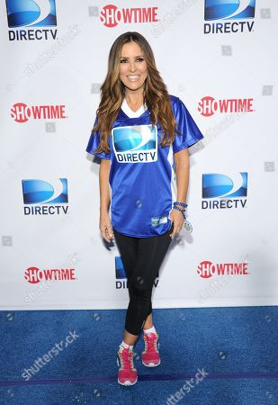 Jillian Barberie arrives at DIRECTV's Seventh Annual Celebrity Beach Bowl, on in New Orleans