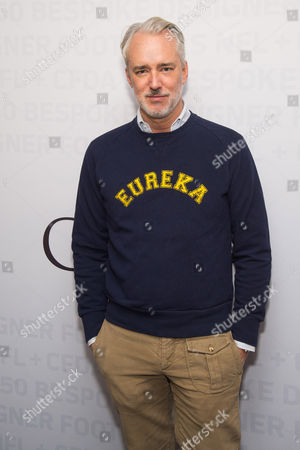 Michael Bastian attends an event to unveil Super Bowl 50 designer footballs in collaboration with the CFDA at NFL headquarters, in New York