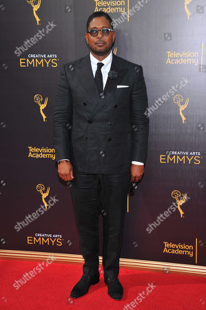 Jayson Jackson arrives at night two of the Television Academy's 2016 Creative Arts Emmy Awards at the Microsoft Theater on in Los Angeles