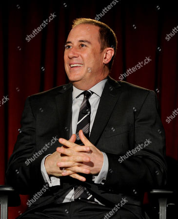 """MARCH 4: Mike Kelley participates in the Academy of Television Arts & Sciences Presents An Evening With """"Revenge"""" panel at the Leonard H. Goldenson Theater at the Academy of Television Arts & Sciences on in North Hollywood, California"""