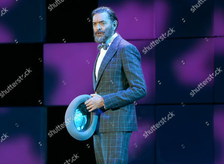 "Timothy Omundson performs I'll Know from the musical Guys and Dolls at the 24th annual Alzheimer's Association ""A Night at Sardi's"" at the Beverly Hilton hotel, in Beverly Hills, Calif"