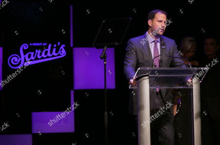 """Editorial picture of The 24th Annual Alzheimer's Association """"A Night at Sardi's"""" - Inside, Beverly Hills, USA - 9 Mar 2016"""