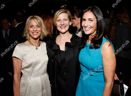 Janice Spire, Sue Naegle and Leslie Gilbet Lurie attend The Alliance for Children's Rights 21st Annual Dinner at The Beverly Hilton Hotel on in Beverly Hills, California