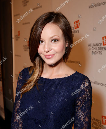 Samantha Droke attends The Alliance for Children's Rights 21st Annual Dinner at The Beverly Hilton Hotel on in Beverly Hills, California