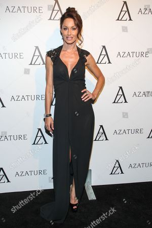 Actress Melanie Marden arrives at The Black Diamond Affair at the Sunset Tower Hotel on in West Hollywood, Calif