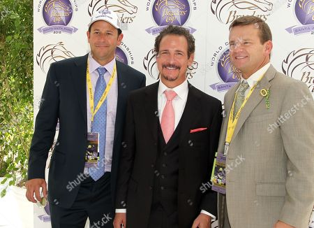 Stock Image of Jim Rome is seen on Day 2 of the Breeders' Cup World Championships, in Arcadia, Calif