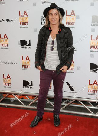 "Tim Myers arrives at the closing night of the LA Film Festival and the LA premiere of ""The Way, Way Back"" at the Regal Cinemas on in Los Angeles"