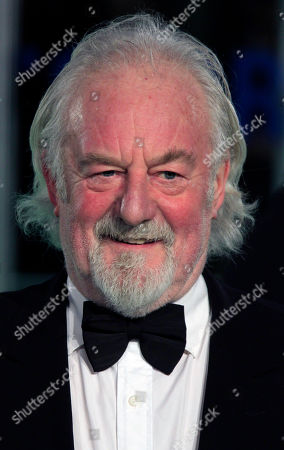 Bernard Hill arrives on the red carpet at a Leicester Square cinema for the Royal Performance of The Hobbit: An Unexpected Journey