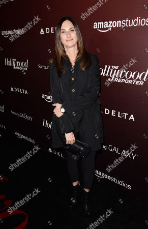 Carla Hacken arrives at The Hollywood Reporter Next Gen 20th Anniversary Gala Celebration sponsored by Samsung Galaxy, MR PORTER.COM, Delta, Ketel One, and Amazon Studios, in Los Angeles