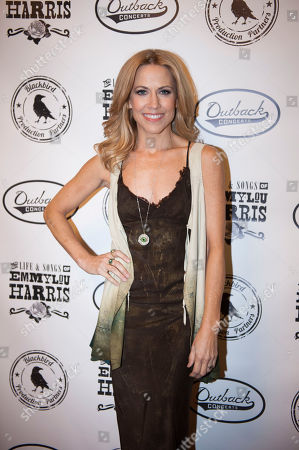 Sheryl Crow is seen on the red carpet at The Life & Songs of Emmy Lou Harris at the DAR Constitution Hall on in Washington