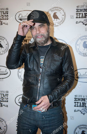Daniel Lanois is seen on the red carpet at The Life & Songs of Emmy Lou Harris at the DAR Constitution Hall on in Washington
