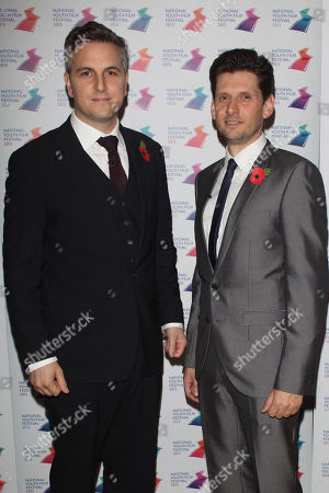 Ben Willbond and Laurence Rickard at the National Youth Film Festival Awards at Vue cinema in London on Friday, Nov 8th, 2013