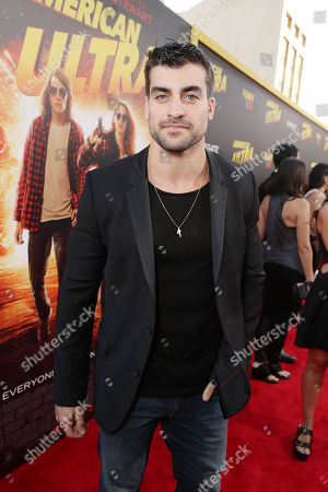 Thomas Canestraro seen at The World Premiere of Lionsgate's 'American Ultra' at Ace Hotel, in Los Angeles, CA