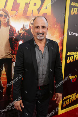 Michael Papajohn seen at The World Premiere of Lionsgate's 'American Ultra' at Ace Hotel, in Los Angeles, CA