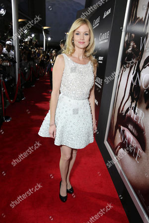 Stock Photo of Cynthia Preston seen at The World Premiere of MGM and Screen Gems' 'Carrie,' on Monday, Oct, 7, 2013 in Hollywood