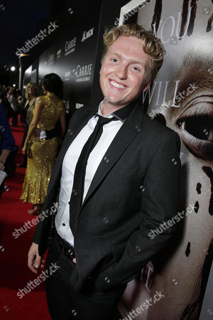 Stock Photo of Max Topplin seen at The World Premiere of MGM and Screen Gems' 'Carrie,' on Monday, Oct, 7, 2013 in Hollywood