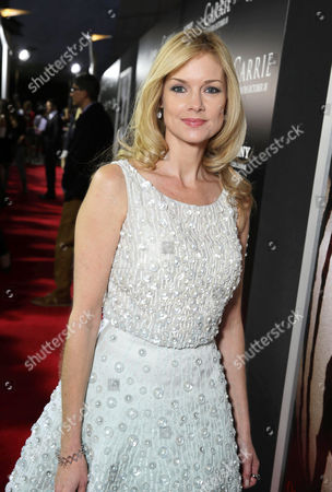 Stock Image of Cynthia Preston seen at The World Premiere of MGM and Screen Gems' 'Carrie,' on Monday, Oct, 7, 2013 in Hollywood