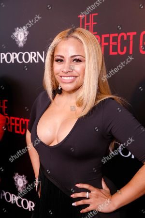 Charisse Mills seen at The World Premiere of Screen Gems 'The Perfect Guy', in Los Angeles, CA