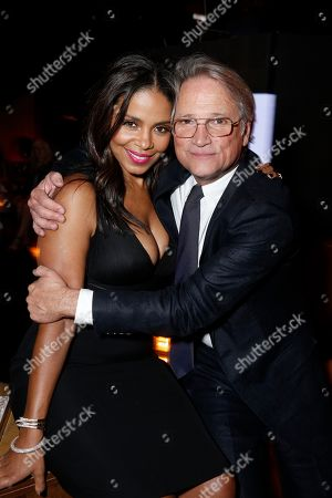 Sanaa Lathan and President, Screen Gems - Clint Culpepper seen at The World Premiere of Screen Gems 'The Perfect Guy', in Los Angeles, CA