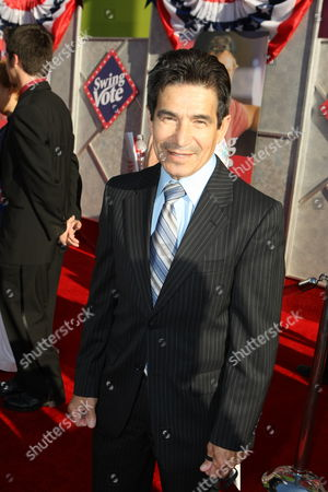 """JULY 24: Hall of Fame jockey Laffit Pincay Jr. at the World Premiere of Touchstone Pictures' """"Swing Vote"""" on at the El Capitan Theatre in Hollywood, CA"""