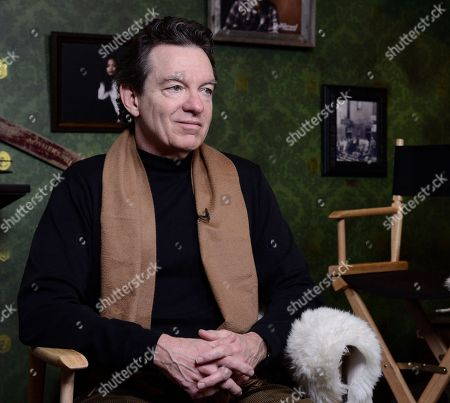 Author Lawrence Wright seen at The Hollywood Reporter Studio at Sundance on in Park City, Utah