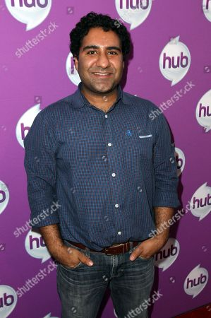 """Stock Picture of Actor Parvesh Cheena arrives at The Hub's """"Transformers Prime Beast Hunters"""" World Premiere Screening Event on in Universal City, Calf"""