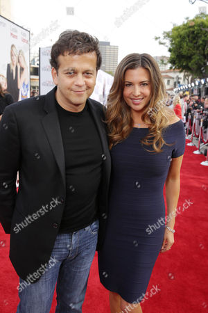Composer Aaron Zigman and Ashley Cusato seen at theTwentieth Century Fox Los Angeles Premiere of 'The Other Woman', in Westwood, Calif