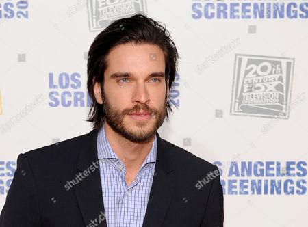 Daniel DiTomasso arrives at Twentieth Century Fox Television Distribution's 2013 LA Screenings Lot Party on in Los Angeles, California
