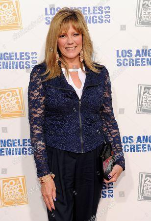 Wendy Schaal arrives at Twentieth Century Fox Television Distribution's 2013 LA Screenings Lot Party on in Los Angeles, California