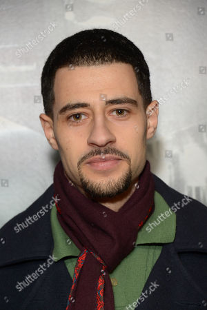 "David Avery arrives at the UK Screening of ""Starred Up"" at Hackney Picture House in London on Tuesday, March. 18th, 2014"