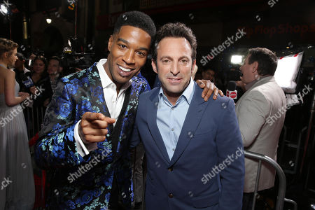 """Star Scott Mescudi and Director Scott Waugh attend the US Premiere of DreamWorks Pictures """"Need For Speed"""" at The TCL Chinese Theatre in Los Angeles, CA on . """"Need For Speed"""" marks an exciting return to the great car culture films of the 1960s and '70s, when the authenticity of the world brought a new level of intensity to the action on-screen. The film opens in theaters March 14, 2014"""