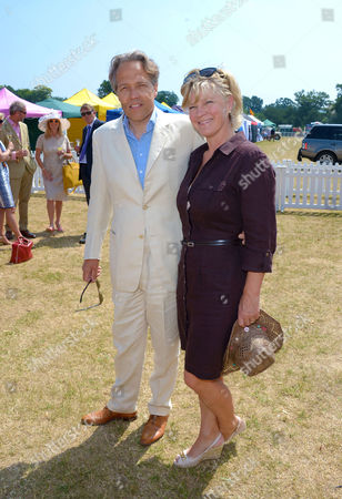 Lord and Lady March attend the Veuve Clicquot Gold Cup Polo Final at Cowdray Park, West Sussex, on