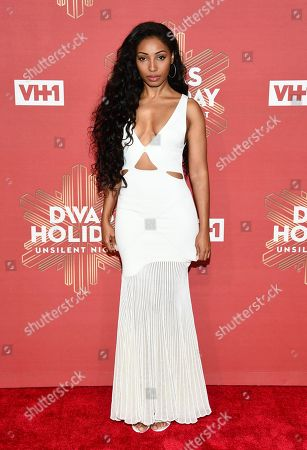 """Diana Gordon attends VH1 Divas Holiday: """"Unsilent Night"""" at Kings Theatre, in New York"""