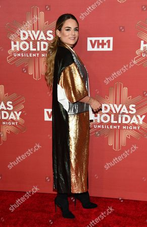 """Stock Picture of Joanna """"JoJo"""" Levesque attends VH1 Divas Holiday: """"Unsilent Night"""" at Kings Theatre, in New York"""