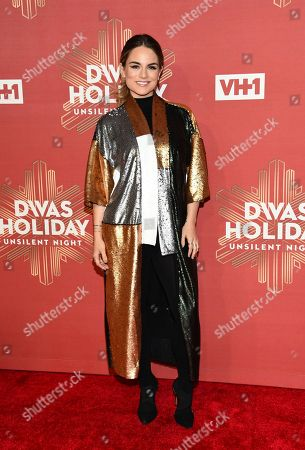 """Stock Photo of Joanna """"JoJo"""" Levesque attends VH1 Divas Holiday: """"Unsilent Night"""" at Kings Theatre, in New York"""