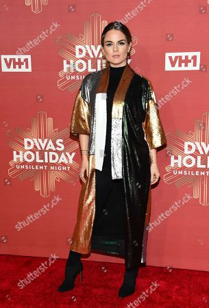 """Joanna """"JoJo"""" Levesque attends VH1 Divas Holiday: """"Unsilent Night"""" at Kings Theatre, in New York"""