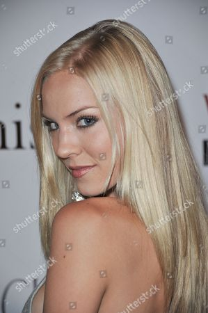 Kristen Dalton attends the Viva Glam November Issue Party at Station Hollywood, in Los Angeles