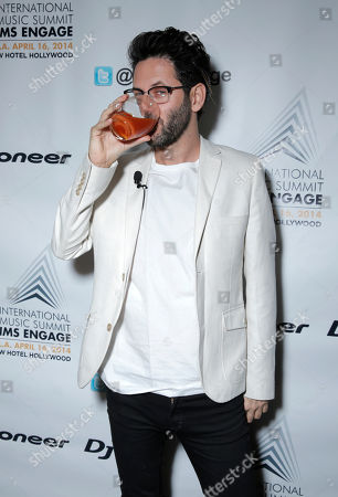Guy Gerber arrives at the International Music Summit - IMS Engage at the W Hollywood,, in Los Angeles